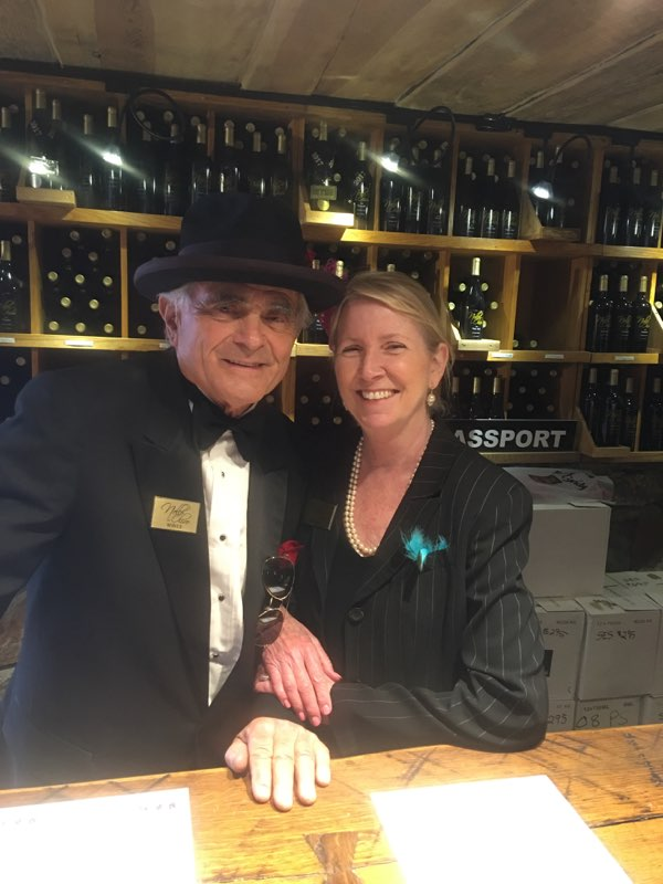 Nello Olivo and Wanda Beaudry, Manager