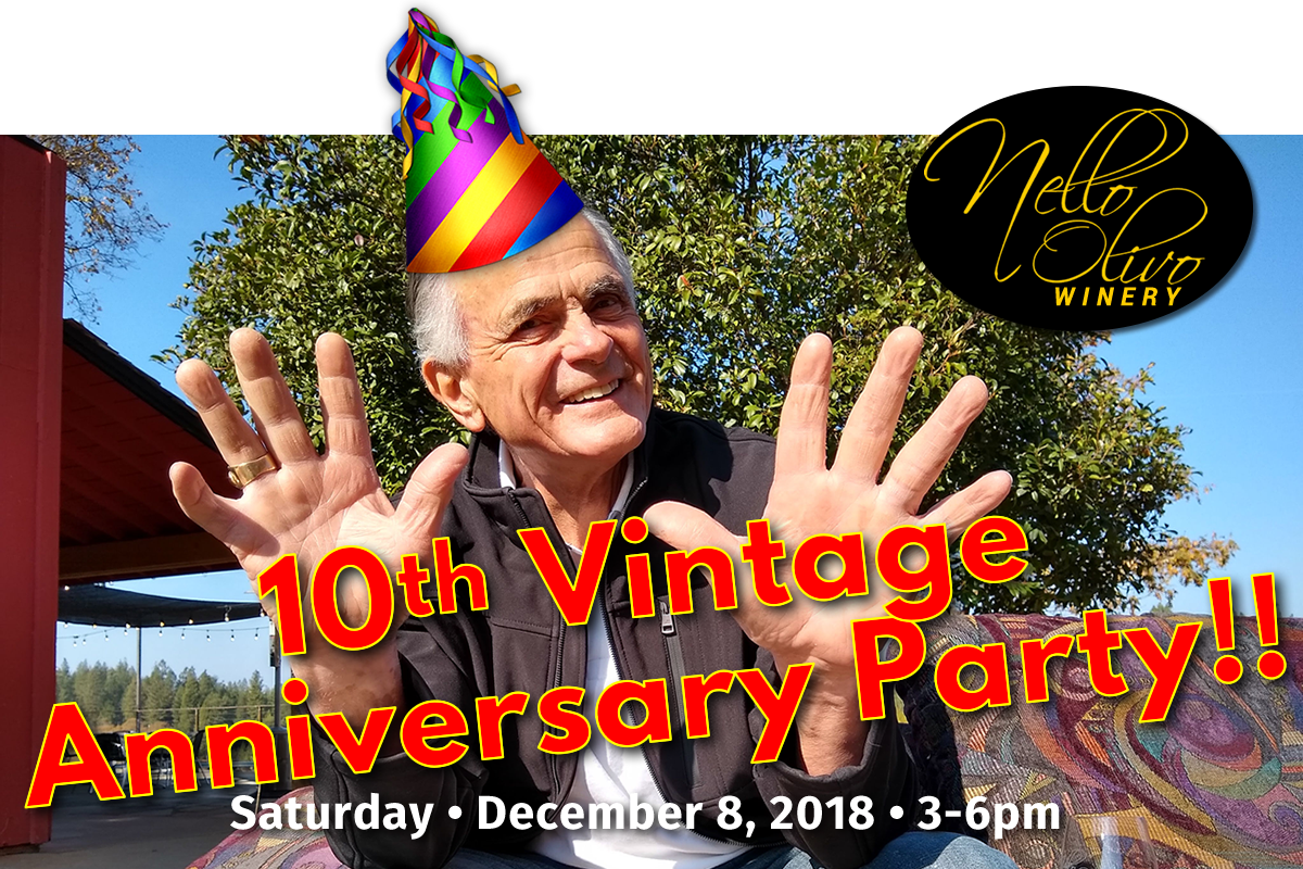Nello Olivo 10th Vintage Anniversary Party