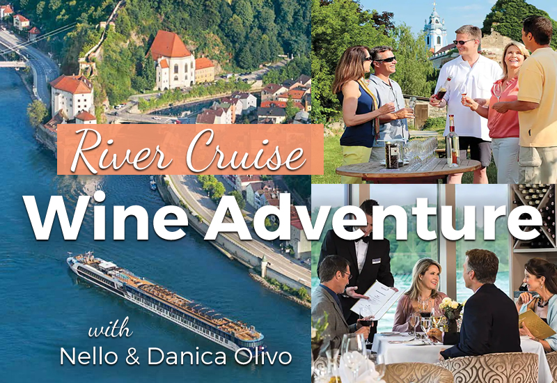 Nello Olivo Winery hosts a River Cruise Wine Adventure