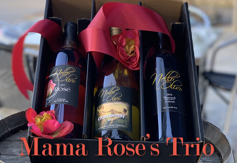A trio of wines to honor Nello Olivo's mother, Rose Olivo