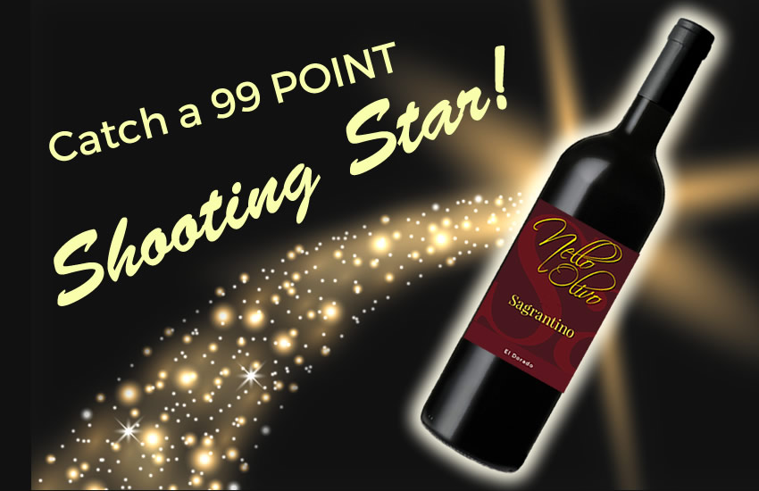 Nello Olivo Sagrantino - a 99 Point shooting star