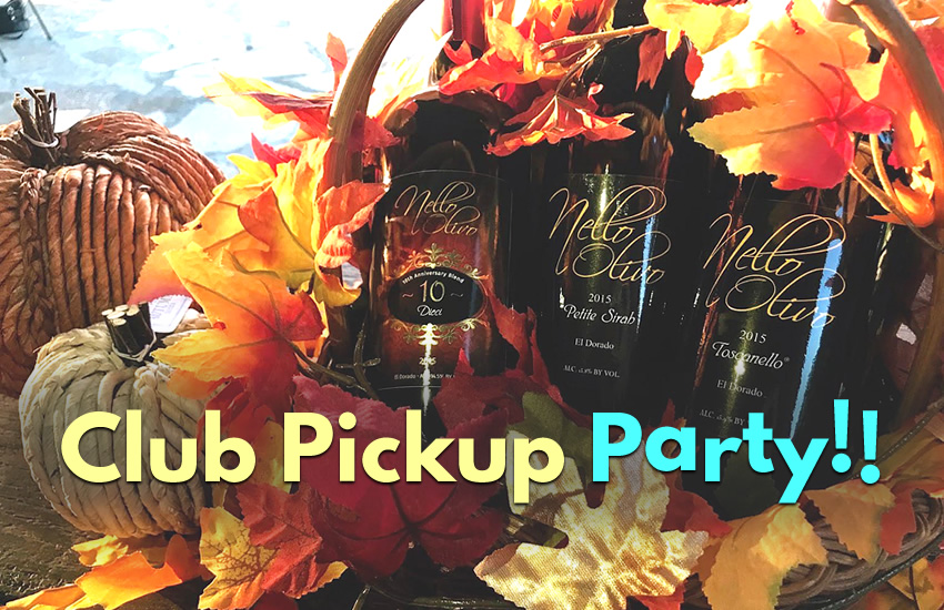 Nello Olivo Wine Club Pickup Party